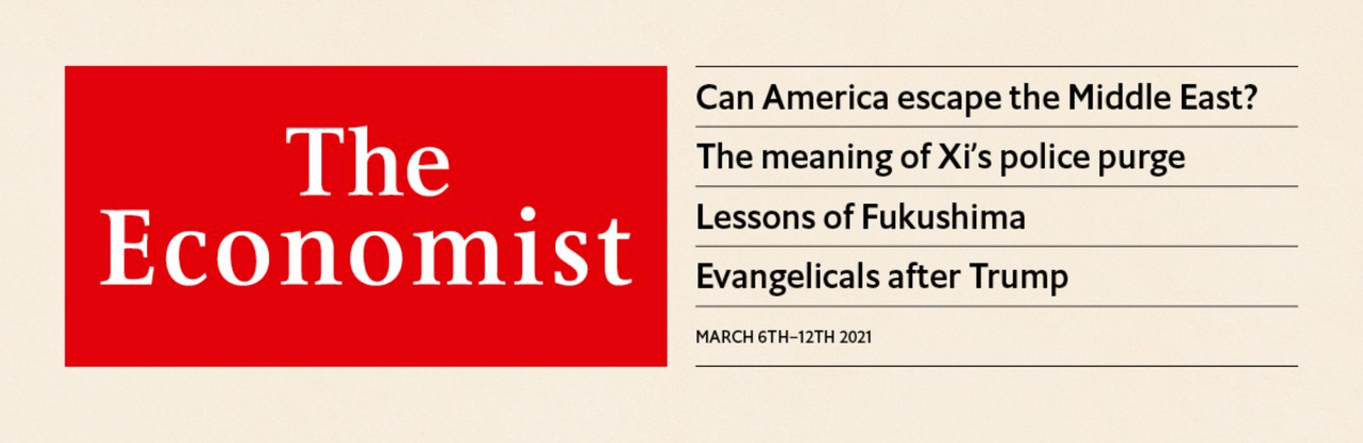 The Economist: Two Nations Under God