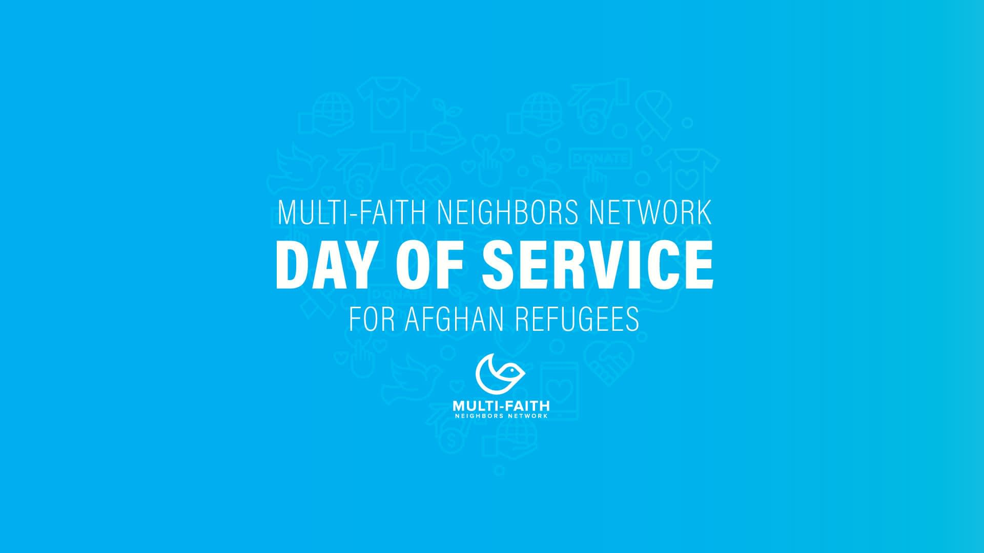 Multi-Faith Neighbors Network Day Of Service for Refugees